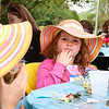 LEANDRA BEABOUT | THE GOSHEN NEWS<br /> Hailee Hogan, 4, of Goshen, enjoyed her tea and snacks at the SPA Women's Ministry tea party.