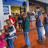 BEN MIKESELL | THE GOSHEN NEWS<br /> People wait in line to vote in Tuesday's midterm election at Grace Community Church in Goshen.