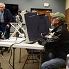 BEN MIKESELL   THE GOSHEN NEWS<br /> Larry Howard, of Goshen, casts his votes in the midterm election Tuesday at Greencroft Goshen.
