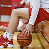 BEN MIKESELL | THE GOSHEN NEWS<br /> Westview senior Elijah Hales warms up prior to the Warriors' season opener against Bethany Christian Tuesday at Westview Jr.-Sr. High School.