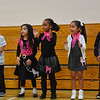 BEN MIKESELL | THE GOSHEN NEWS<br /> First-graders at Concord West Side Elementary School practice the hand jive during the 1950s sock hop to celebrate the 50th day of school Monday.