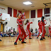 BEN MIKESELL | THE GOSHEN NEWS<br /> Dancers from Epic Dance Studio perform a routine for students during a rally Thursday afternoon at Concord South Side Elementary School.