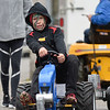 BEN MIKESELL | THE GOSHEN NEWS<br /> Landon Hurst, 7, of New Paris, competes in the Pedal Pull Saturday afternoon during the Maple Syrup Festival in Wakarusa.