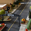 BEN MIKESELL | THE GOSHEN NEWS<br /> A model built by entrepreneur Dave Pottinger shows the potential changes along the north side of Main Street downtown Goshen.
