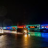 Joseph Weiser | The Goshen News<br /> Candian Pacific Railroad Holiday Train passes through Norfolk Southern's Elkhart Rail Yard at 4:32 a.m. Sunday Morning. Visit our website for a  video of the Holiday Train.