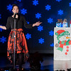 """Maya Yoder, 13, of Goshen, performs a solo of """"Have Yourself a Merry Little Christmas"""" during the Goshen Middle School Hip Hop Christmas Concert Tuesday evening."""