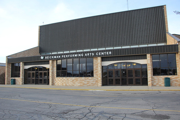 AIMEE AMBROSE | THE GOSHEN NEWS <br /> The Concord Community Schools Board met Tuesday and heard design plans for renovating Beickman Performing Arts Center at Concord High School this year.