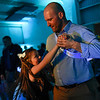 BEN MIKESELL | THE GOSHEN NEWS<br /> Anthony Harber, Goshen, dances with his daughter Alia, 7, during the annual Daddy Daughter Dance Wednesday night at the Elkhart County 4-H Fairgrounds.