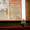 BEN MIKESELL | THE GOSHEN NEWS<br /> Randall Clouse, with the Goshen Historical Society, gives a presentation on the history of the Goshen Theater Wednesday afternoon for Goshen Theater Week.