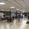 BEN MIKESELL | THE GOSHEN NEWS<br /> The main concourse at Maple City Bowl has been renovated to have more open space and brighter LED lights, owner Roger Brown said.