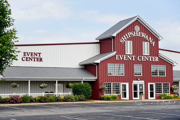 BEN MIKESELL | THE GOSHEN NEWS<br /> The Shipshewana Event Center will be the new home of the Blue Gate Performing Arts Center when it opens in March 2020.
