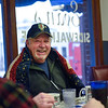 BEN MIKESELL | THE GOSHEN NEWS<br /> Vietnam veteran Gary Cessna talks with other veterans across the table Nov. 8, 2018, at Evan's Sidewalk Cafe in Bristol. Gary and his brother Duane, who also fought in the Vietnam War, come to the breakfast every week to talk with fellow veterans.