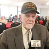 Scott L. Miley | CNHI News Indiana<br /> Bob Pedigo, who grew up on Indianapolis' south side, was on a B-24 Liberator, which crossed the Channel to bomb a German encampment behind Omaha Beach.