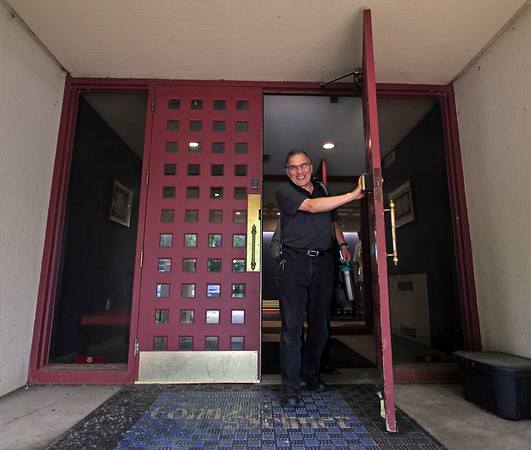 "GEOFF LESAR | THE GOSHEN NEWS<br /> <br /> Elkhart's Jim Catalano walks through Conn-Selmer's doors for a final time as an employee of the company earlier today. Catalano, 65, has been a figure in the drum industry for 41 years — at Selmer for three, Conn for two and Conn-Selmer for 36 years, primarily in the Ludwig Drums division. He spent 30 years as Ludwig's marketing manager and five and a half years as trade show manager. <br /> ""This is a family, and I was lucky in that I got to be the bridge between the Ludwig-owned family business,"" Catalano said. ""It was basically a hand-off to me to carry it forward into the next generation. <br /> ""And so, I got to work for 20 years of the 36 years I was here with (Bill Ludwig II), who remained a consultant for the company. He taught me and trained me on so much about the business. … From when I started in 1983, until 2003, for 20 years, we traveled the world together. We went to all the shows. It was a great education. I got to learn the stories behind the stories, why certain things were the way they were, ya know? That's what was really so impactful for me. And it set me up to have a long career.""<br /> An adjunct music instructor at Notre Dame and Saint Mary's College, Catalano will continue teaching and gigging while sharing his knowledge of percussion ""for health and well-being,"" including music therapy and work with local schools.<br /> <br /> He plans to hit the Pumpkinvine Trail tomorrow."