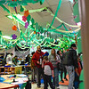 BEN MIKESELL | THE GOSHEN NEWS<br /> Sonya Overman's kindergarten class was transformed into a rain forest setting for the kindergarten showcase Thursday evening at Chamberlain Elementary School.