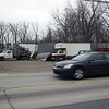 JOHN KLINE | THE GOSHEN NEWS<br /> A car drives past the former Ramirez Salvage Yard, a former brownfield site located at 828 E. Lincoln Ave., in this December 2015 file photo. City officials this week announced that they have established a new Brownfield Cleanup Revolving Loan Fund Program that will help with the assessment, remediation and redevelopment of potential brownfield properties in and around the Goshen area.