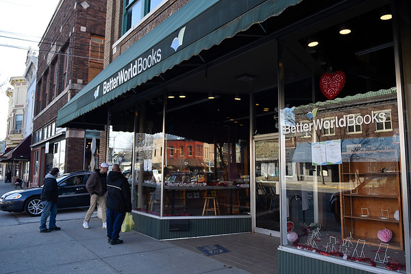 BEN MIKESELL | THE GOSHEN NEWS<br /> Better World Books closed its doors Tuesday on Main Street in Goshen.The company plans to hold clearance sales this month and then close the store entirely March 30.