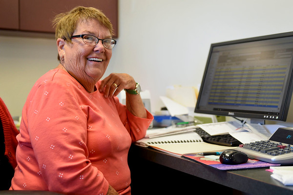 BEN MIKESELL | THE GOSHEN NEWS<br /> Mary Ryman has been the Bristol town clerk for 46 years, and will not be seeking another term in the upcoming election this year.