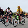 BEN MIKESELL | THE GOSHEN NEWS<br /> Bicyclists begin the 47th annual ADEC Ride-A-Bike Saturday morning at Northridge High School.