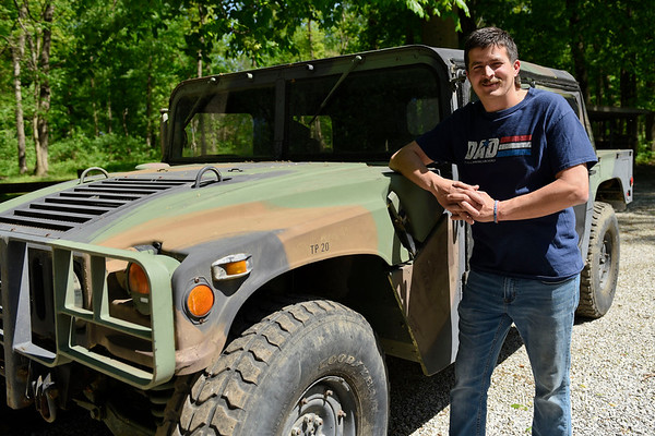 """BEN MIKESELL   THE GOSHEN NEWS<br /> Harold Eichhorn, of Goshen, will be a guest speaker for Memorial Day festivities this weekend in Goshen. Eichhorn spent 18 years in the Army National Guard, with two deployments overseas: Iraq in 2003 and Afghanistan in 2009. """"I'll say what's on my heart,"""" he said. """"This is about those men and women who preceded me and who gave the ultimate sacrifice."""""""