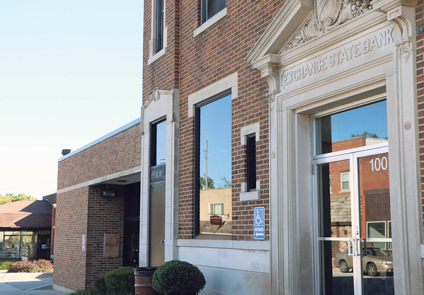 SHERRY VAN ARSDALL | THE GOSHEN NEWS<br /> The Wakarusa Police Department will soon move into the former bank building downtown.