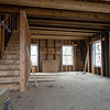 Joseph Weiser | The Goshen News<br /> The Fields Family Farmhouse is being remodeled with new siding and a new basement. Originally built in 1834 as the first post frame house in Elkhart County.