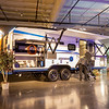 Joseph Weiser | The Goshen News<br /> Jeffrey Few of Elkhart and his wife Robin Few overlook the exterior of The Venture Sonic X during the RV Business RV of the year 2020 show at the RV/MH Hall of Fame and Museum in Elkhart Thursday.