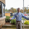 Joseph Weiser | The Goshen News<br /> Goshen Hospital CEO Randal Christophel speaks the press about the upcoming plans for the remodeling of Goshen Hospital Monday.