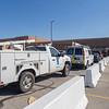 Joseph Weiser | The Goshen News<br />  Nipsco resounds to a gas leak at the Goshen High School on Wednesday.