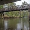 Joseph Weiser | The Goshen News<br /> Sewage spill leaks into the Elkhart River in Goshen on Friday. View taken from Shanklin Park.