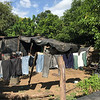 PHOTO CONTRIBUTED<br /> A tarp home sits on top of a mining area in Nicaragua.