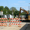 JOHN KLINE | THE GOSHEN NEWS<br /> Construction work on Phase 3 of the city's Ninth Street Multi-Use Path project begins at the intersection of Ninth and Jackson streets Friday afternoon.