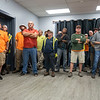 Joseph Weiser  The Goshen News<br /> Elkhart Parks and Recocreation departement workers reconized for providng the labor for reopening the Tolson Center on Wednesday, September 25, 2019 at the Tolson Center in Elkhart, Indiana.