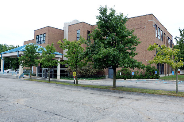 AIMEE AMBROSE | THE GOSHEN NEWS <br /> The Elkhart County Health Department is based in the Lincoln Center building, 608 Oakland Ave., in Elkhart. The county commissioners approved a bid from Green Improvements of Middlebury to replace the building's leaking roof.