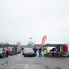 Customers flock to His Hands and Feet fundraiser Saturday at the Trinity Plaza parking lot in Goshen.