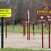Milrace Park playground equipment is closed to minimize the spread of COVID-19. The park is located at 410 W.  Plymouth Ave.