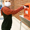 Jeremiah Salazar, son of Emma Estep and Jack Salazar drops his letter into Santa's mailbox atPrairie View Elementary School. Jeremiah attends Prairie View Elementary.