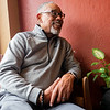Arvis Dawson speaks during an interview at The Electric Brew in Elkhart in March.