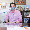 Goshen Mayor Jeremy Stutsman speaks about the importance of using a mask Thursday in his office at the Goshen City Hall in Goshen.