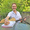 Douglas Riley writes music at home in Smyrna, Tennessee.