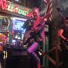 Douglas riley performs at Layla's Nashville with bass guitarist Daniel Palasset-Mouledous.