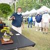 Bonsai Artist William Valavanis speaks to participants Saturday, Aug. 1 at Wellfield Botanic Gardens during the Bonsai Show in Elkhart.
