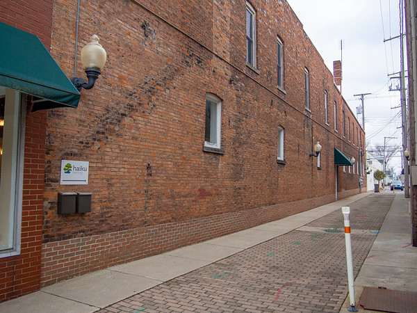 This east/west alleyway, located between 118 and 120 S. Main St. in downtown Goshen, will soon be the site of a new Art Alley project following action by the Goshen Board of Public Works and Safety Monday afternoon.