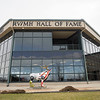 A exterior view of the RV/MH Hall of Fame Tuesday. The address is 21565 Executive Parkway, Elkhart. The hours are Monday–Saturday 10 a.m. to 4 p.m. and closed Sunday. Admission is $12 for adults, $9 for Children (6-16), <br /> Children (5 and under) are free, and $10 for seniors (60 and over).