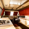 A interior view of a 1989 Star Streak ll at the RV/MH Hall of Fame Tuesday.