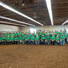 Elkhart County 4-H Dairy Feeder Showman participants pose for a group photo Wednesday during the 2020 4-H Showcase at the Elkhart County 4-H Fairgrounds in Goshen.