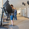 Early voters take to the polls Tuesday morning at Maple City Chapel in Goshen.