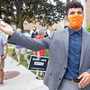 """Abraham Medellin, of Goshen, speaks during an interview after the Board of Works meeting Monday afternoon after his proposal of an """"Black Lives Matters"""" mural mid-point being at the intersection of Main Street and Washington Street was declined by the Goshen Board of Works."""
