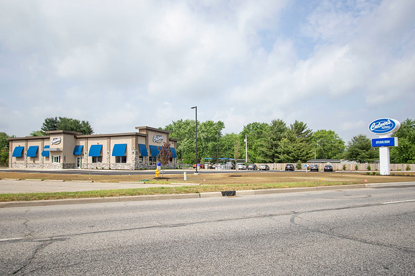 An exterior view of the brand new Culver's on Elkhart Road Wednesday morning will be hosting a ribbon cutting Monday morning at 9:00 a.m.