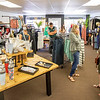 Goshen Chamber of Commerce members check out Rose Lee Boutique Friday morning before the ribbon cutting ceremony at Rose Lee Boutique on 114 E. Washington St., Goshen. The boutique will be having an official grand opening Saturday, June 13.
